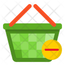 Busket Delete Shopping Icon