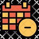 Remove Calendar Icon