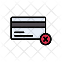 Pay Cancel Credit Icon