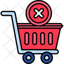 Icancellation Remove Cart Remove Trolley Icon