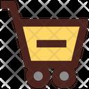 Remove Cart Remove Trolley Delete Cart Icon