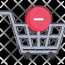 Cart Remove Retail Icon