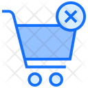 Remove Cart Trolley Cart Icon
