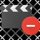 Clapper Remove Clip Icon