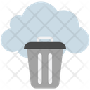 Cloud Computing Trash Icon