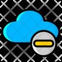 Remove Cloud Cancel Cloud Delete Cloud Icon