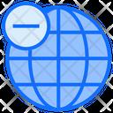 Remove Connection Remove Internet Remove Network Icon