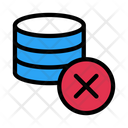 Cancel Delete Database Icon
