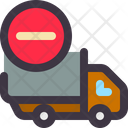 Remove Delivery Cancel Delivery Delivery Icon