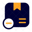 Delete Package Package Shipping And Delivery Icon