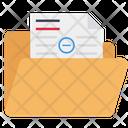 Remove Document Document Folder File Icon