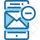 Email Mobile Remove Icon