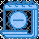 Remove Event Delete Day Icon