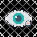 Remove Eye Icon