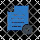 Cancel Remove File Icon