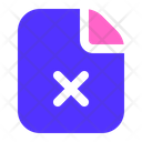 Failed Document File Icon