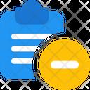 Remove File Delete File Document Icon