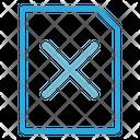 Remove File Remove Document Remove Icon