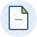 Remove File Delete File File Icon
