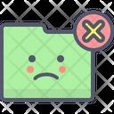 Folder Xmark Remove Folder Remove Icon