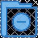 Delete Minus Folder Icon