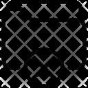 Clear Folder Cancel Icon