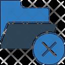 Remove Folder Delete Folder Cancel Folder Icon