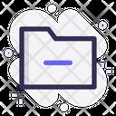 Remove Folder Cancel Folder Remove Icon