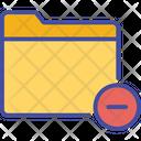 Close Delete Folder Icon