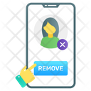 Remove Friend Icon