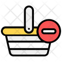 Remove From Bucket Shopping Remove Product Icon