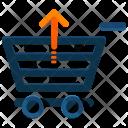Arrow Up Shopping Icon