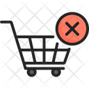 Cart Cancle Dismiss Icon