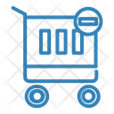 Minus Cart Store Shop Icon