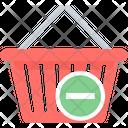 Remove Cart Shopping Icon