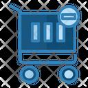 Minus Chart Online Shop Items Icon