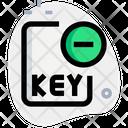 Remove Key File Icon