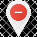 Remove locatio Icon