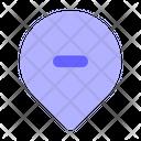 Remove-location Icon