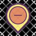 Mremove Location Remove Location Cancel Location Icon