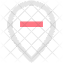 Remove Location Location Delete Location Icon