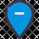 Remove Location Location Minus Icon