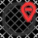 Remove Location Remove Globe Icon