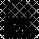 Cross Lock Security Icon