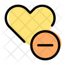 Remove Love Icon