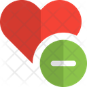 Remove Love Cancel Love Love Icon