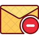 Remove Mail Remove Email Letter Icon
