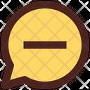 Remove Message Delete Message Chat Icon