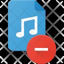 Remove Music File Icon