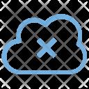 Remove Network Cloud Icon